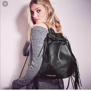 Victoria's Secret fringed tassel Backpack